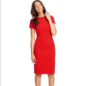 Boden Red Betty Ottoman Dress